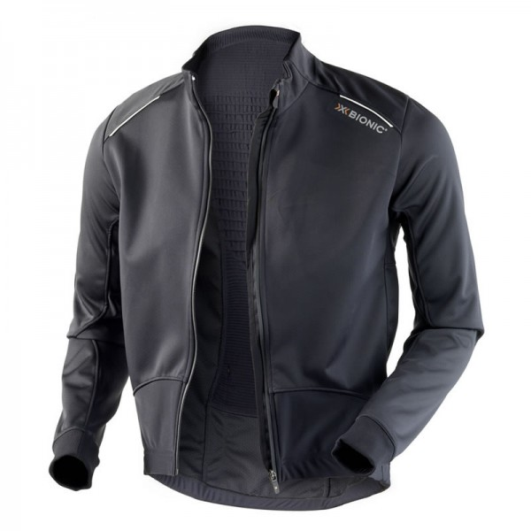 X-BIONIC SphereWind Winter Bike Jacket Men Black