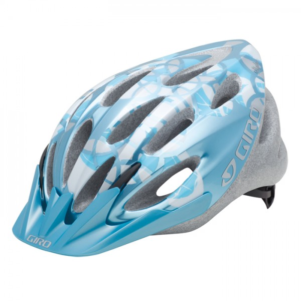 GIRO Velohelm Skyla, Ice Blue/Silver Elements
