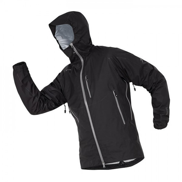 R'ADYS R1 x-light Regenjacke Men Black