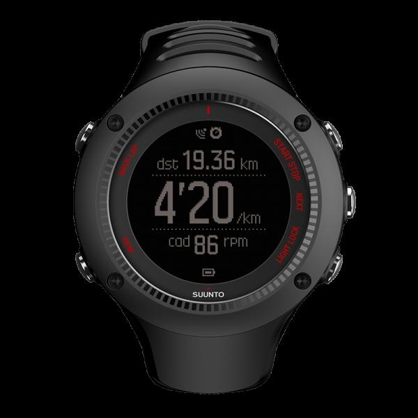 SUUNTO AMBIT3 RUN Black GPS-Pulsuhr