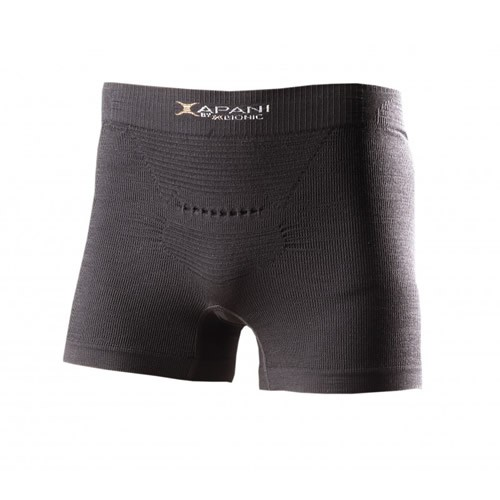 APANI Underwear Pants Short Merino Men Black