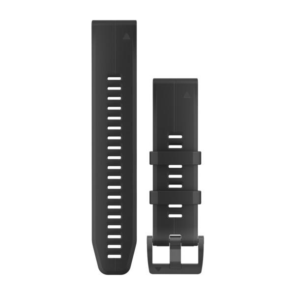 GARMIN QuickFit 22 Armband Silicone Black