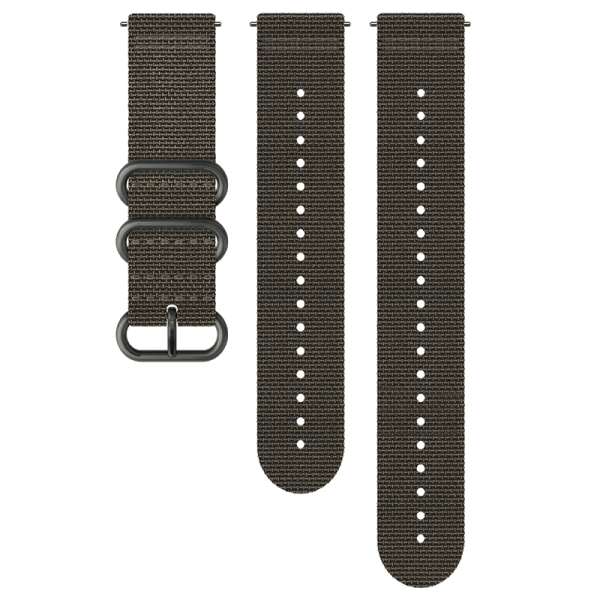 SUUNTO 24 mm Explore 2 Textile Strap Foliage/Gray