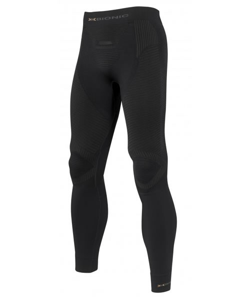 X-BIONIC Running Pants Long Men Black/Anthracite