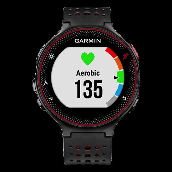 GARMIN Forerunner 235 GPS Black/Marsala Red
