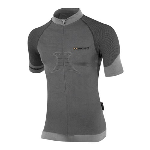 X-BIONIC Fennec Bike Shirt S/S Men Anthracite
