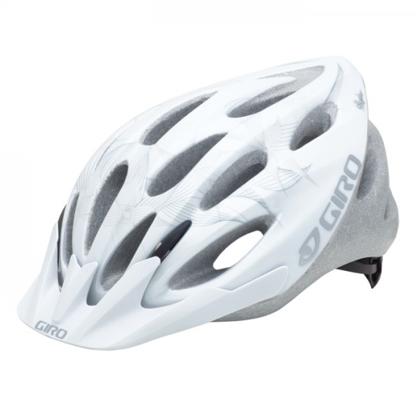 GIRO Velohelm Skyla, White Tech Flowers
