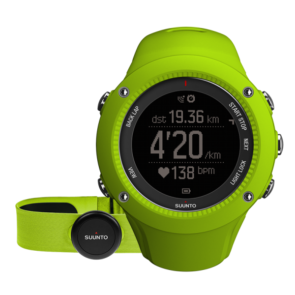 SUUNTO AMBIT3 RUN Lime HR GPS-Pulsuhr